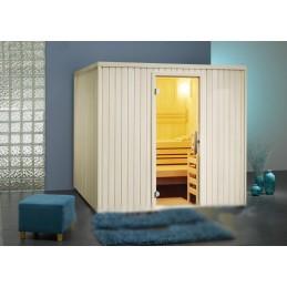 Safir Sauna-Set Fronteinstieg B x T x H 213x196x200 Bi-O Ofen 7,5kW