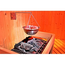 Multi Cup Himalaya Salz Verdampfer Saunaaufguss