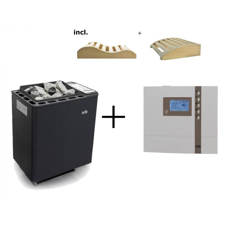 Saunaofen Bi-O-Thermat 6kW + H2 Steuergerät
