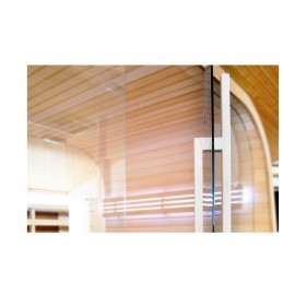 Sauna Türgriff Holzgriff Ahorn Glas Tür Saunatür innen