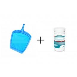 Oberflächenkescher + Chlorilong 1kg