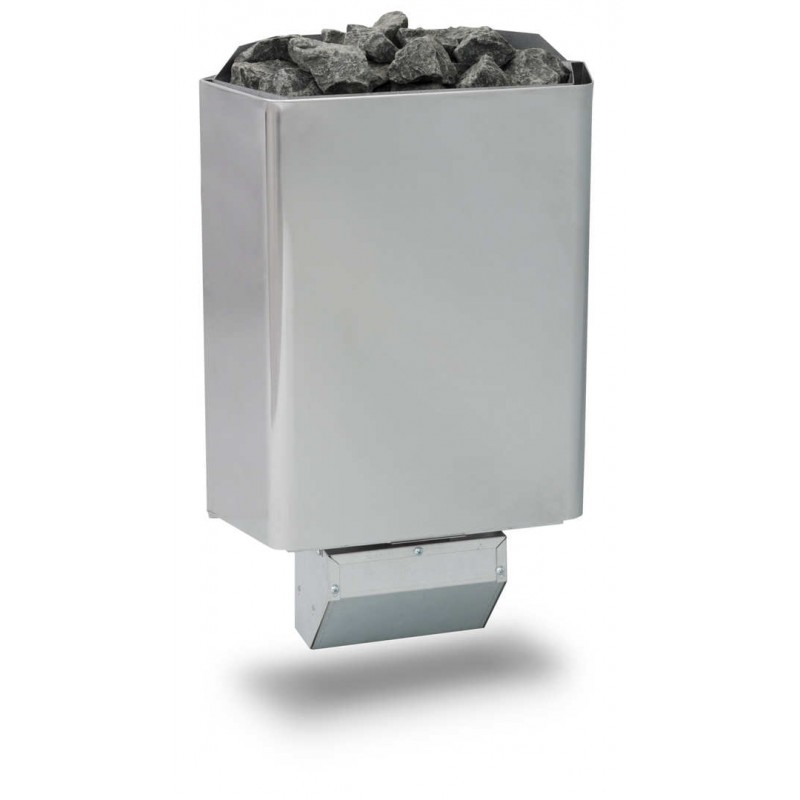 Saunaofen Steel 8,0 kW Wandofen Monuments für Saunen bis 11 m³