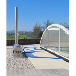 Holz - Poolofen 30kW für Pool bis 15m³
