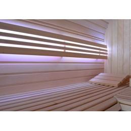 Sauna Holzkissen Kopfstütze Holz Kissen Wellness Comfort