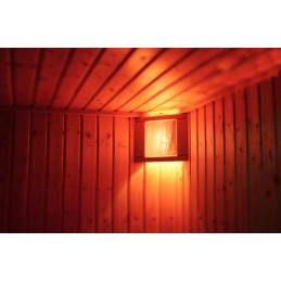 Salzkristalllampe Eigenherstellung Saunabeleuchtung