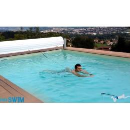 Schwimmgurt Spaß Aqua Fitness wie Gegenstromanlage