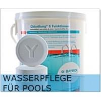 - Wasserpflege für Pools