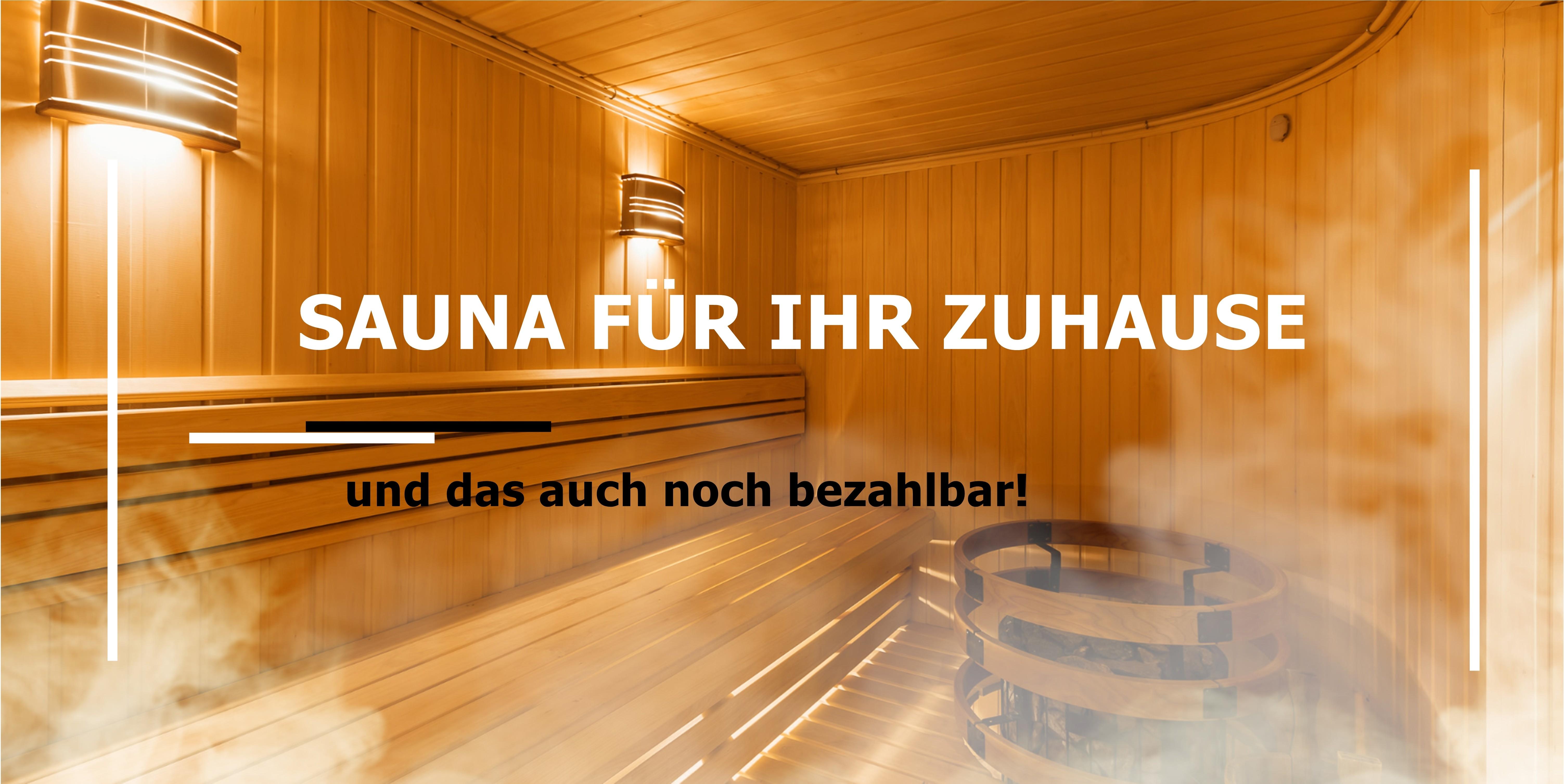 Sauna bau Deutschland